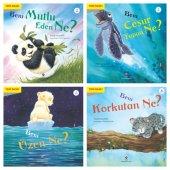 Tübitak BENİ Mutlu-Üzen-Cesur Yapan-Korkutan NE Serisi 4 kitap 6+ Yaş