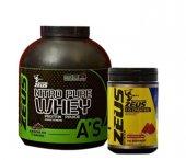 Zeus Nutrition Nitro Pure Whey Protein Tozu 2273GR -Zeus Nutrition Creatine 500 Gr