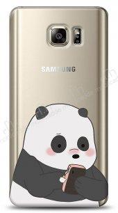 Samsung Galaxy Note 5 Confused Panda Kılıf