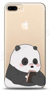 iPhone 7 Plus Confused Panda Kılıf