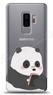 Samsung Galaxy S9 Plus Confused Panda Kılıf