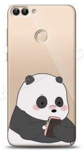 Huawei P Smart Confused Panda Kılıf