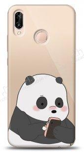Huawei P20 Lite Confused Panda Kılıf