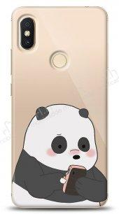 Xiaomi Redmi S2 Confused Panda Kılıf