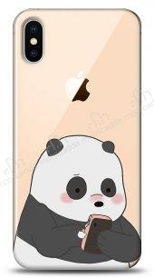 iPhone XS Max Confused Panda Kılıf