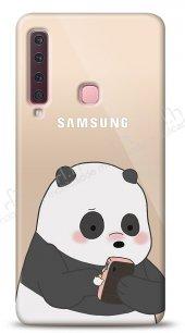 Samsung Galaxy A9 2018 Confused Panda Kılıf