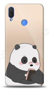 Huawei P Smart 2019 Confused Panda Kılıf