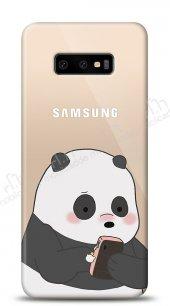 Samsung Galaxy S10e Confused Panda Kılıf