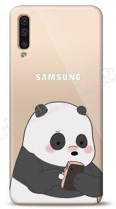 Samsung Galaxy A50 Confused Panda Kılıf