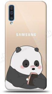 Samsung Galaxy A70 Confused Panda Kılıf