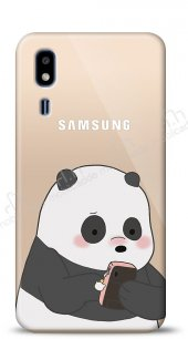Samsung Galaxy A2 Core Confused Panda Kılıf
