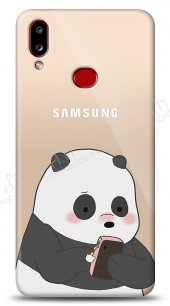 Samsung Galaxy A10S Confused Panda Kılıf
