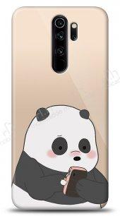 Xiaomi Redmi Note 8 Pro Confused Panda Kılıf