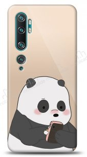 Xiaomi Mi Note 10 Confused Panda Kılıf