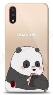 Samsung Galaxy A01 Confused Panda Kılıf