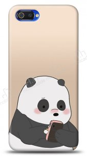 Realme C2 Confused Panda Kılıf