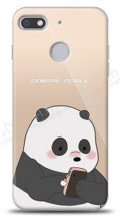 General Mobile GM 9 Go Confused Panda Kılıf