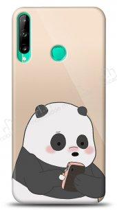 Huawei P40 Lite E Confused Panda Kılıf