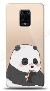 Xiaomi Redmi Note 9S Confused Panda Kılıf