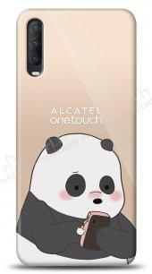 Alcatel 1S (2020) Confused Panda Kılıf