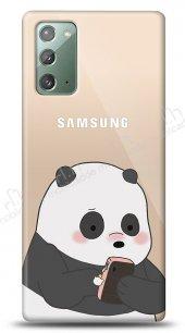 Samsung Galaxy Note 20 Confused Panda Kılıf