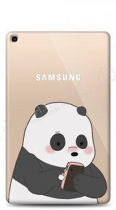 Samsung Galaxy Tab S5e SM-T720 Confused Panda Kılıf