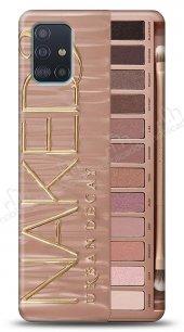 Samsung Galaxy A71 Makeup Palette Bronze Kılıf