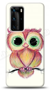 Huawei P40 Pro Cuddly Owl Kılıf