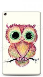Samsung Galaxy Tab S5e SM-T720 Cuddly Owl Kılıf