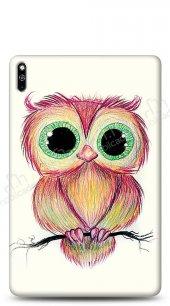 Huawei MatePad 10.4 Cuddly Owl Kılıf