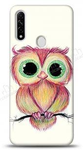 Oppo A31 Cuddly Owl Kılıf