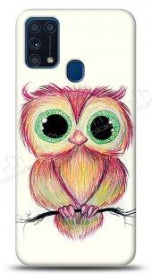 Samsung Galaxy M31 Cuddly Owl Kılıf