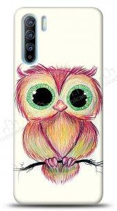 Oppo Reno3 Cuddly Owl Kılıf