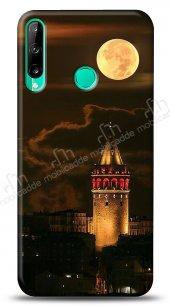 Huawei P40 Lite E Full Moon Galata Kılıf