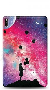 Huawei MatePad 10.4 Moon Girl Kılıf