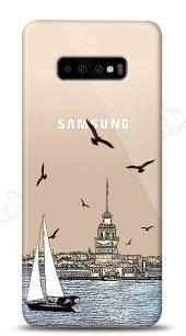 Samsung Galaxy S10 Plus Istanbul View Kılıf