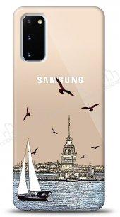 Samsung Galaxy S20 Istanbul View Kılıf