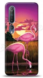 Xiaomi Mi 10 Sundown Flamingo Kılıf