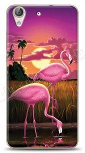 Huawei Y6 ii Sundown Flamingo Kılıf