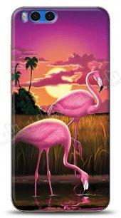 Xiaomi Mi Note 3 Sundown Flamingo Kılıf