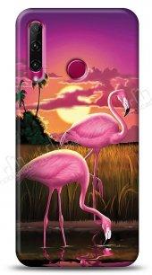 Honor 20 Lite Sundown Flamingo Kılıf