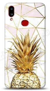 Samsung Galaxy A10S Gold Pineapple Kılıf