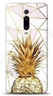 Xiaomi Mi 9T Gold Pineapple Kılıf