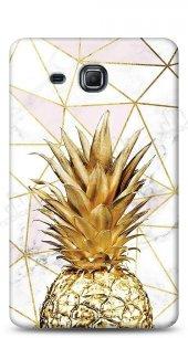 Samsung Galaxy A 7.0 2016 Gold Pineapple Kılıf