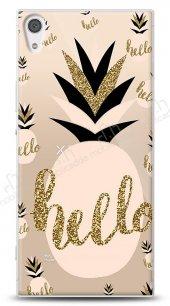 Sony Xperia XA1 Ultra Hello Pineapple Kılıf