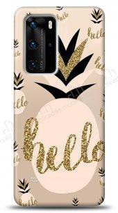 Huawei P40 Pro Hello Pineapple Kılıf