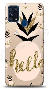 Samsung Galaxy M31 Hello Pineapple Kılıf