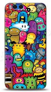 Xiaomi Mi Note 3 Characters Kılıf