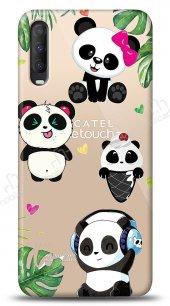 Alcatel 1S (2020) Happy Panda Kılıf