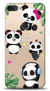Alcatel 1s Happy Panda Kılıf